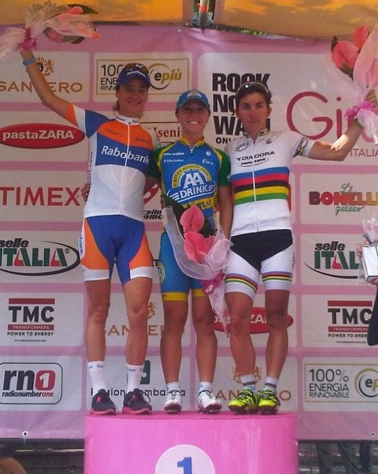 Shelley wins stage 6 of the 2012 Giro d' Italia